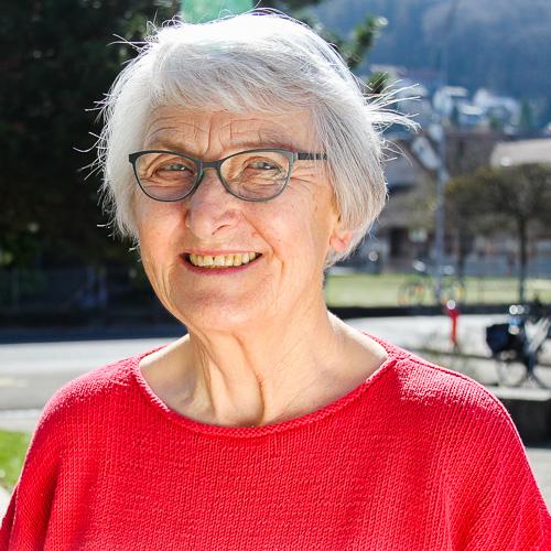 Margrit Biedermann Besuchergruppe der Reformierten Kirche Mittleres Fricktal
