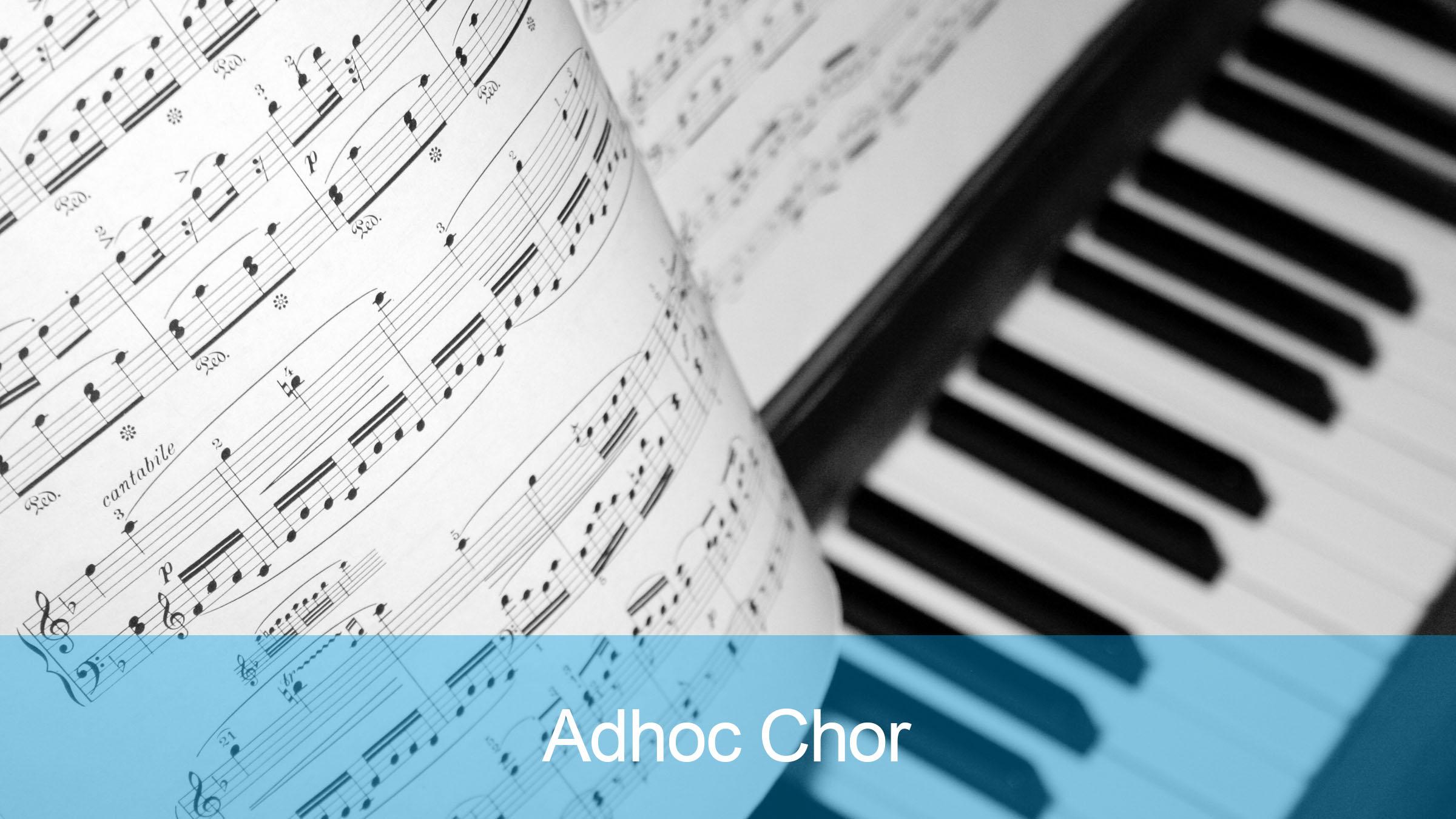 Adhoc Chor der Reformierten Kirche Mittleres Fricktal