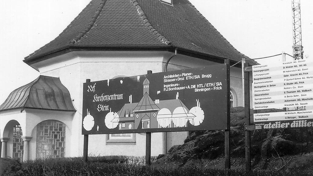 Bau des neuen Kirchenzentrums der Reformierten Kirche Mittleres Fricktal