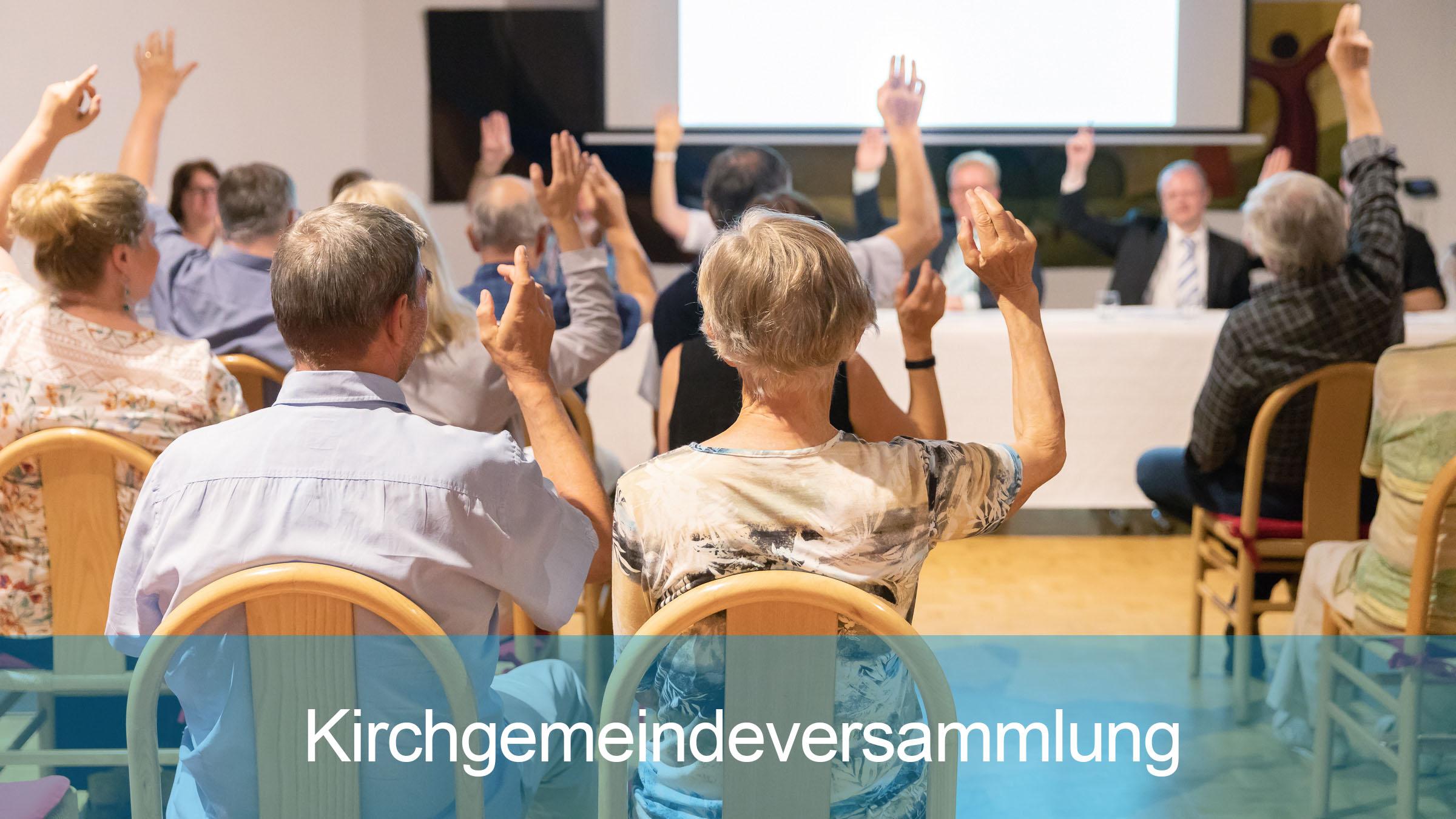 Kirchgemeindeversammlung der Reformierten Kirche Mittleres Fricktal