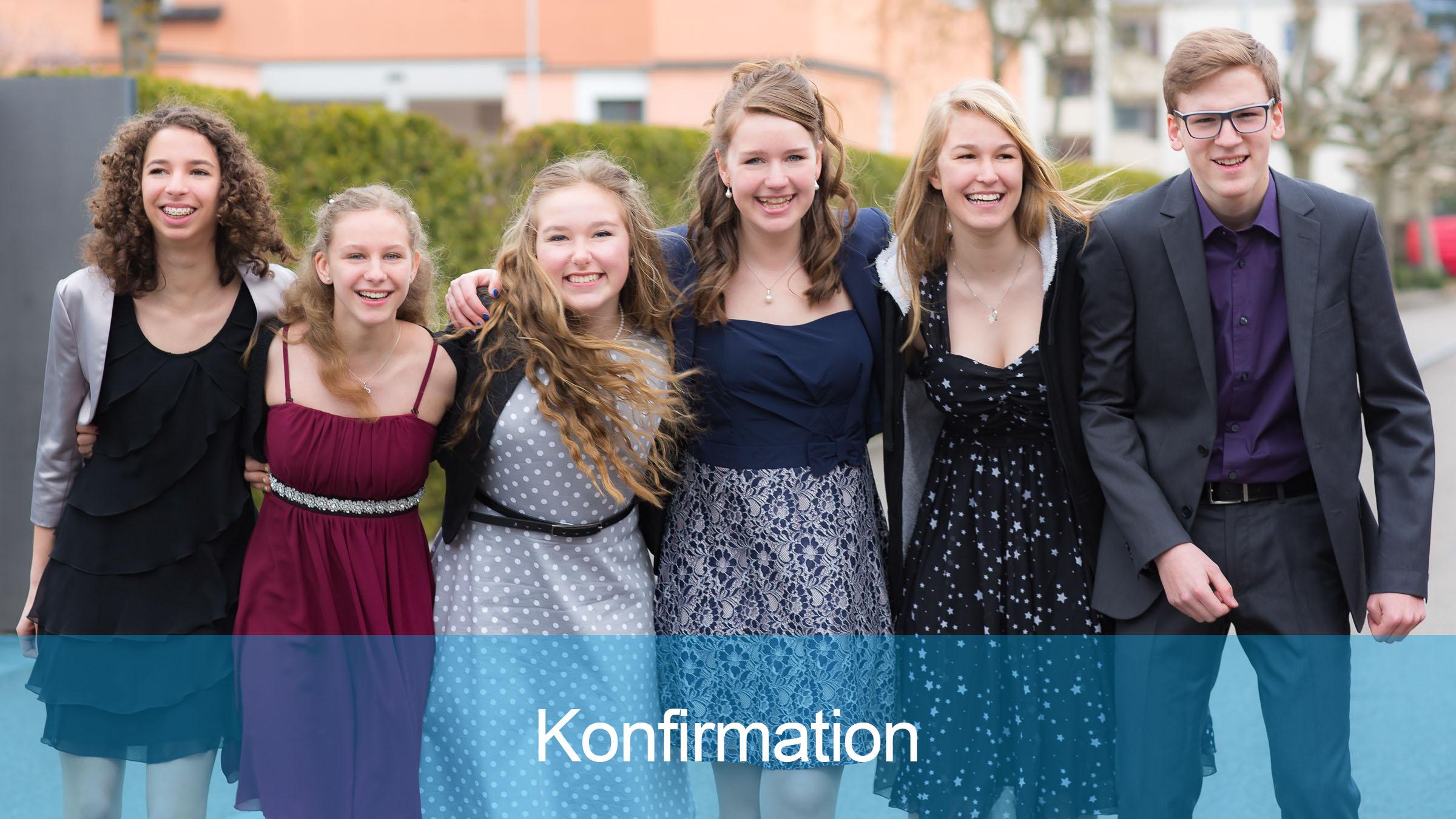 Konfirmation in der Reformierten Kirche Mittleres Fricktal