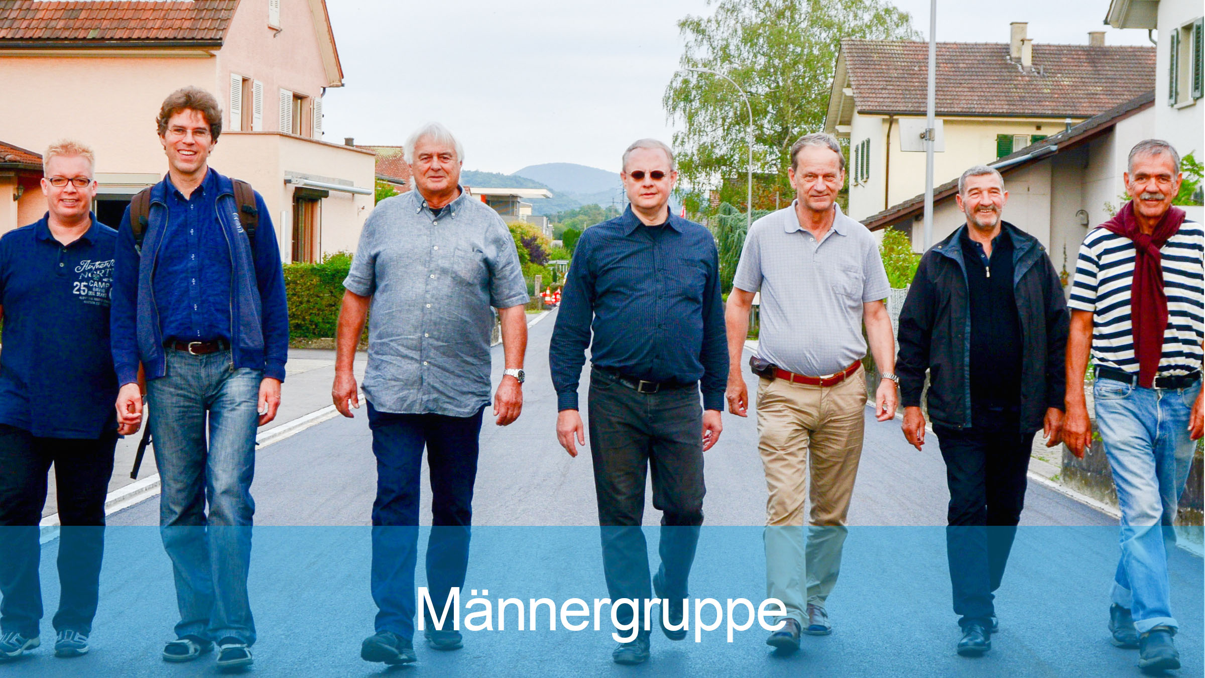 Männergruppe der Reformierten Kirche Mittleres Fricktal