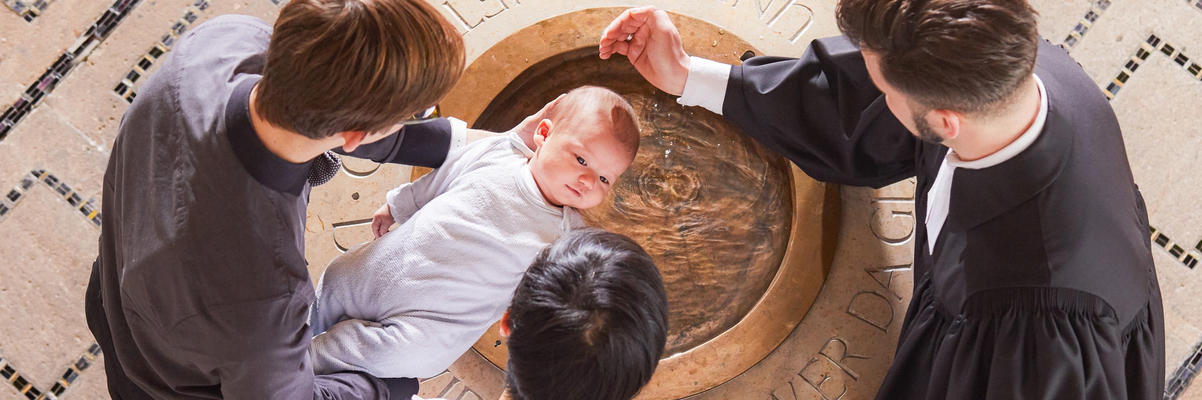 Taufe in der Reformierten Kirche Mittleres Fricktal